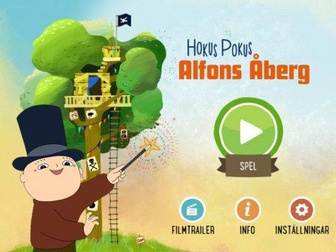 Hokus Pokus Alfons Åberg App