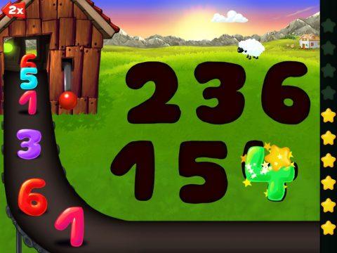 Shapes colors farm puzzles