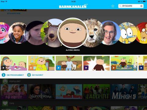 SVT Barnkanalen app